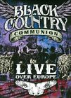 Live over Europe [DVD/Blu-Ray] by Black Country Communion (DVD, 2011, 2 Discs, J&R Adventures)