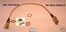 1 x 8 inch RP-SMA Female to MS-156 Male Pigtail Coaxial RF MS156 Cable RG316 USA