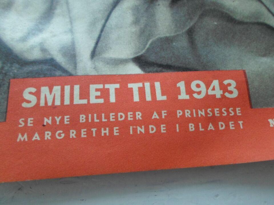 Bøger og blade, Billed Bladet 1943 Dronning Magrethe 3 år