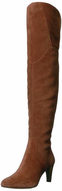 Vince Camuto Womens Armaceli Leather Almond Toe, Chocolate Truffle, Size 6.5 F0s