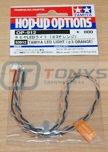 Tamiya 53912 LED Light (3mm Orange) (Use with TLU-01 & TLU-02), NIP