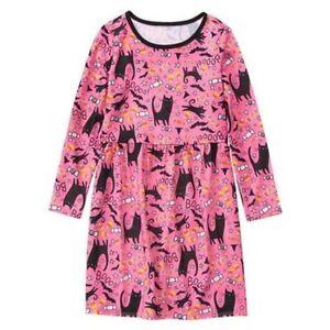 c0d9ebc6432c NWT Gymboree Sleepwear Black Cat   Candy Corn Pajama Gown Nightgown ...