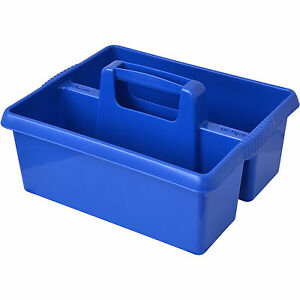 Image Is Loading Wham BLUE Plastic Handy Kitchen Cleaning Tool Box