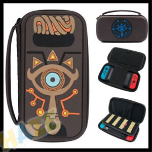 free shipping 14b88 32da3 Details about Zelda Breath Of The Wild Sheikah Slate Case Bag Cover  Nintendo Switch NS Game