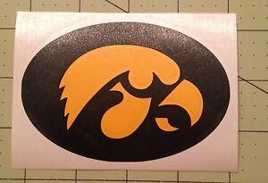 126f9099f7c University Of Iowa Hawkeyes Decal For Your Yeti Rambler Tumbler ...