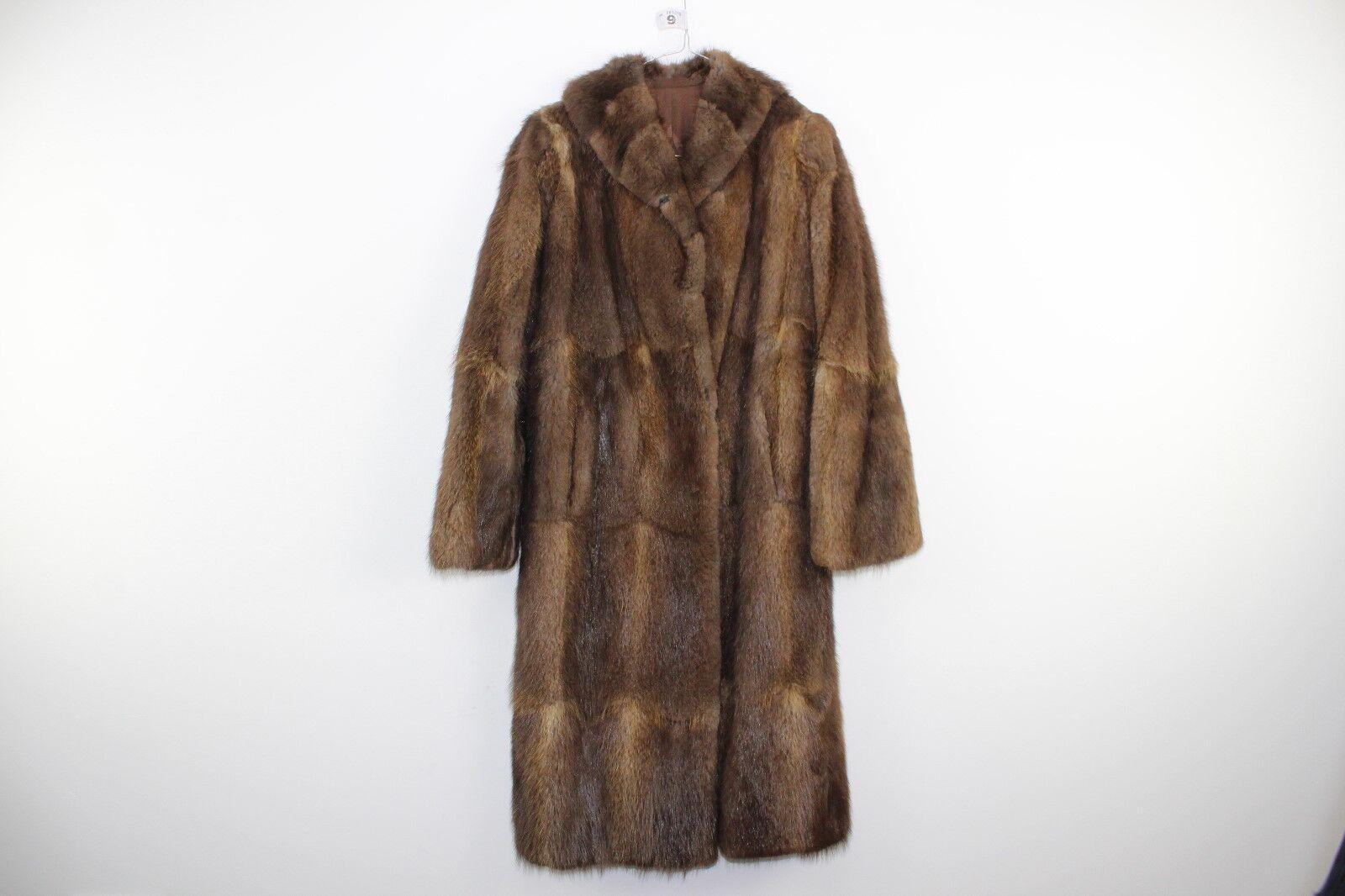 ... Da Donna Pelliccia taglia Marronee giacca taglia Pelliccia vedi  descrizione No.W9 12 4 f52a66 d8aab08a6e7