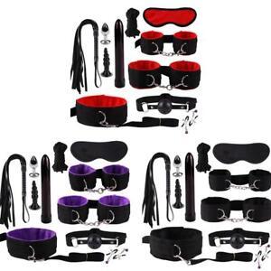 11Pcs-Under-Bed-Bondage-Set-Collar-Whip-Cuffs-Rope-Restraint-System-Kit-BDSM-Toy