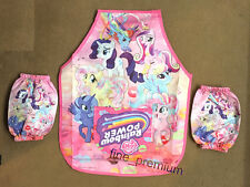My Little Pony Kids Girls Water Proof Feeding Bib Apron Art Paint Smock