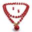 Fashion-Boho-Crystal-Pendant-Choker-Chain-Statement-Necklace-Earrings-Jewelry thumbnail 24