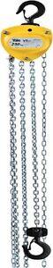 Yale VSIII chain Block Hoist  0.25Ton 250k Load 3m Drop chain Leverage Winches