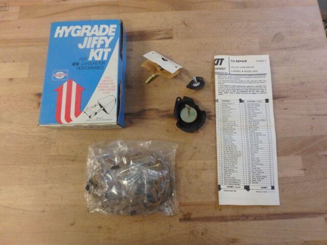 Standard Hygrade 980 Carburetor Rebuild Kit 1978-80 Ford Fiesta 1.6L Holley 740