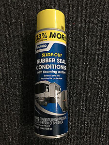 Camco 41135 Slide Out Rubber Seal Conditioner 16 Oz