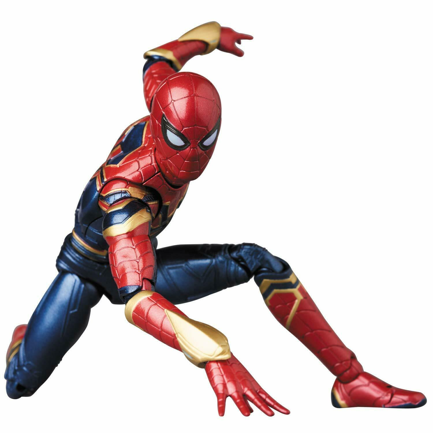 MAFEX IRON SPIDER No.081 145 mm in height Japan nuovo