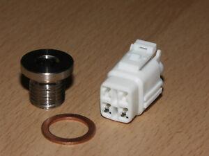 Oxygen O2 Sensor Eliminator Complete Removal Kit for Suzuki GSXR 600 K8-L6