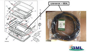 LAND-ROVER-FREELANDER-1996-2006-SUNROOF-TRAY-LID-SEAL-GENUINE-PART-EZB100120