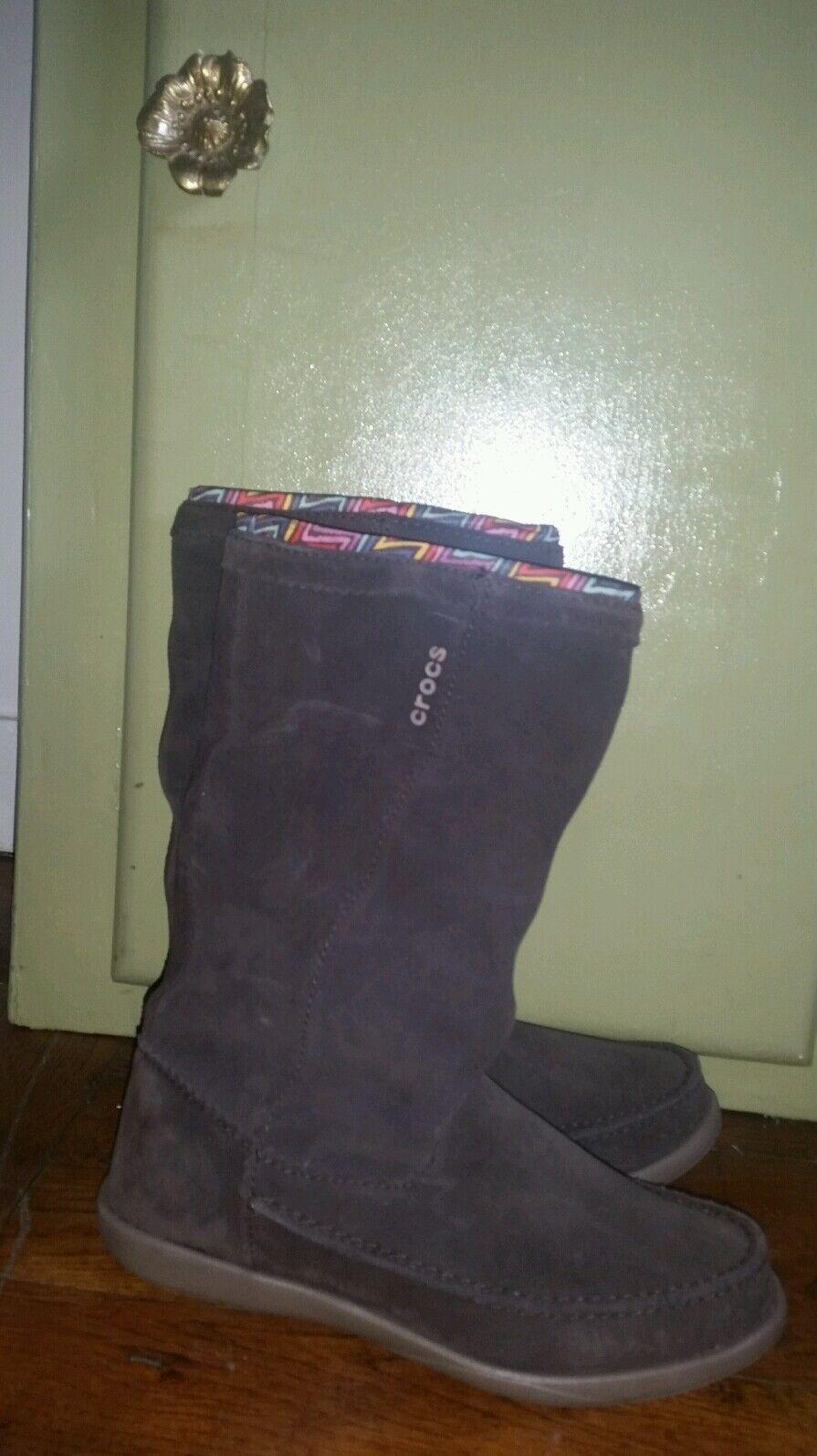 Bottes CROCS P38 W6 mocassins confort NEUFS escarpins ballerines shoes