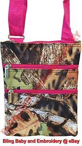 Camo-Pink-Messenger-Passport-Bag-Hipster-Crossbody-Purse-Tote-Mossy-Oak-Pattern