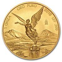 2016 Mexico 1 oz Gold Libertad Brilliant