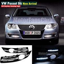 Luci Diurne LED Daytime Fari DRL Per VW Volkswagen Passat B6 2006 2007 2008 2009