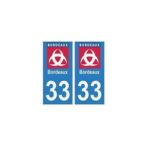 33-Bordeaux-Ville-Logo-autocollant-plaque-blason-stickers-departement-arrondis