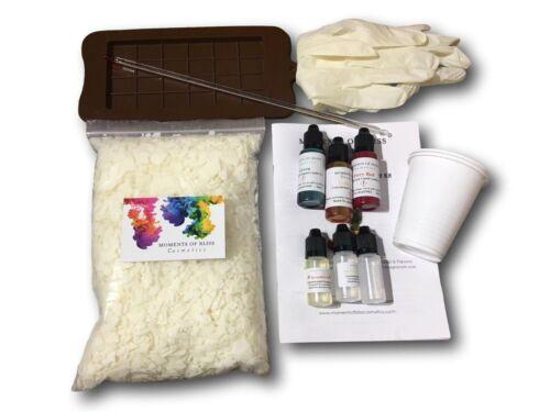 Wax Melt Snap Bar Candle Kit DIY Make Your Own Starter Set Eco Soy Fruity Set
