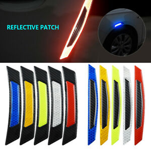 2pcs-Car-Safety-Reflective-Tape-Sticker-Auto-Door-Warning-Stickers-Reflector