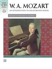 Mozart 15 Intermediate Piano Pieces Sheet Music Schirmer Performance 000296686