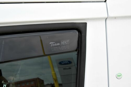 DFO15299 FORD TRANSIT CONNECT 2//4 DOOR 2014 up WIND DEFLECTORS  2pc HEKO TINTED