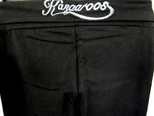 NEU-KangaRoos-Damen-Jazzpant-Fittness-Sport-Hose-schwarz-Taschen-Lang-Gr-92-46