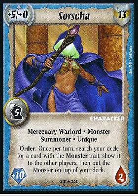 Archmagus Staff Warlord Saga of the Storm SotS CCG