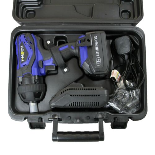 Cordless Impact Wrench Impact Wrench Cordless Screwdriver 18V 400 NM with Battery