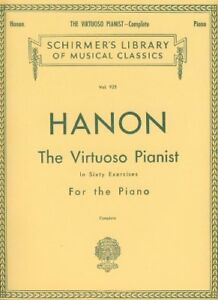NEW-Hanon-The-Virtuoso-Pianist-in-Sixty-Exercises-Complete