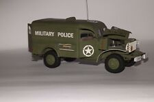 Modelik 12/10 - Dodge wc-54 mp Military Police 1:25 con lasercutteilen
