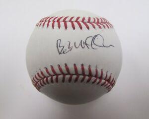 Bob McClure Phillies Coach Signed/Autographed OML Baseball MLB Holo 138831
