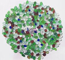Genuine Nova Scotia Beach Sea Glass - 1/2 Lb. of JQ Drillable Tinies - 400+