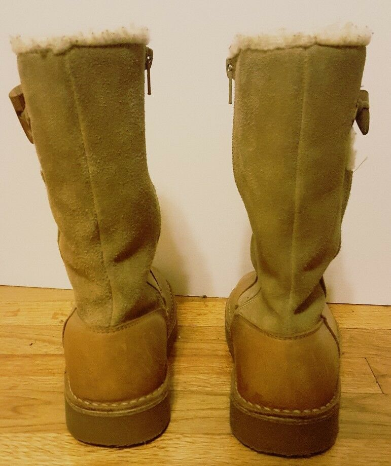 American Eagle Outfitters Outfitters Outfitters Women's Leather Boots  6 d9933f