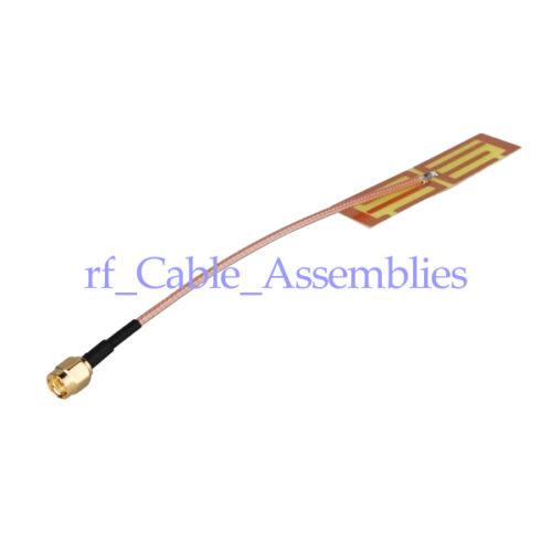4pcs 700-2600Mhz 4G Internal Antenna 5db SMA Male RF Connector cable RG316 10cm