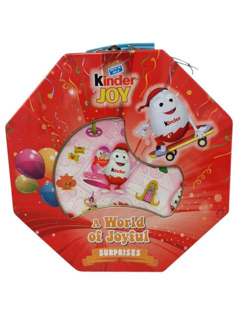 Kinderino Mascot Tin Kinder Joy Surprise Ltd Edition Singapore Girls Very Rare