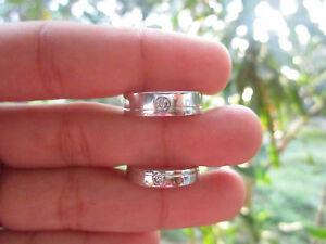 .07 Carat Diamond White Gold Wedding Rings 14K CODEWD001 sepvergara