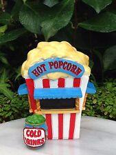 Miniature Dollhouse FAIRY GARDEN ~ Candy CARNIVAL Popcorn Stand