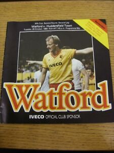 25101983 Watford v Huddersfield Town Football League Cup Creased Thanks f - <span itemprop=availableAtOrFrom>Birmingham, United Kingdom</span> - Returns accepted within 30 days after the item is delivered, if goods not as described. Buyer assumes responibilty for return proof of postage and costs. Most purchases from business s - Birmingham, United Kingdom