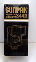 Sunpak 344d Auto Zoom Dedicated Flash For Pentax Cameras In Box Manual