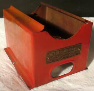 Vintage-Weeden-Electric-Steam-Engine-Toy-Model-No-702-Firebox-Boiler-Stand-Parts