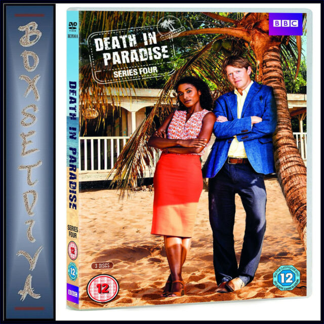 DEATH IN PARADISE - COMPLETE SERIES 4   **BRAND NEW DVD***