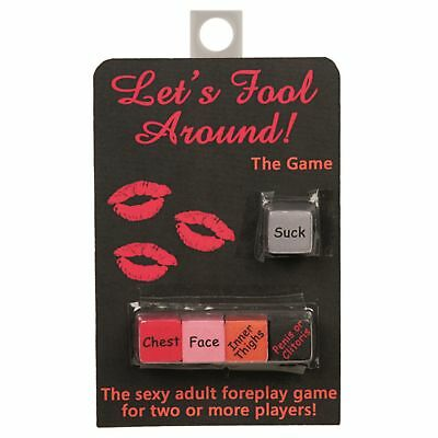 LET/'S FOOL AROUND CARD GAME ADULT Sex GIFT DISCREET UK SELLER Quick