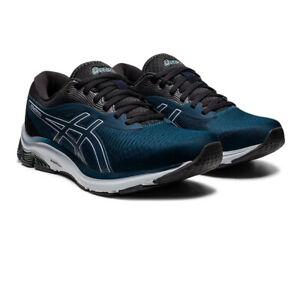 Asics Homme Gel-Pulse 12 Chaussures De Course Baskets Sneakers Bleu Marine Sports