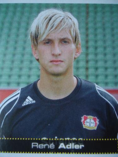 Panini 313 BL Fussball 2007//08 Rene Adler Bayer Leverkusen