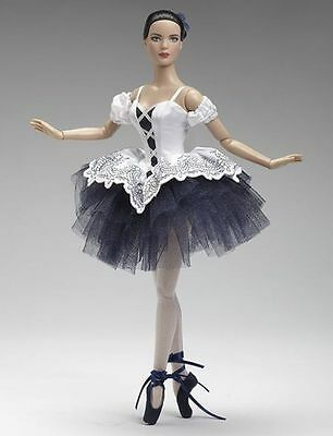 "Tonner 16"" Ballerina Doll CLASSICAL Navy Blue-White LIMITED EDITION 400 only"