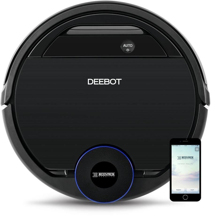 Ecovacs DEEBOT Robotic Vacuum Cleaner Li-ion Motion Sensing Smart Home Wi-Fi
