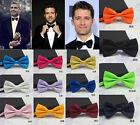 Men Classic Wedding Bowtie Necktie Bow Tie Novelty Tuxedo Fashion Adjustable